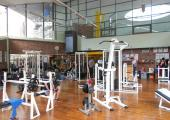 Weights/Fitness room at the Richard Bozon Sports Center