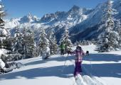 Safe skiing on open piste