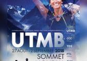 UTMB 2018 affiche. Photo source: @chamonix.com