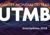UTMB® 2018: Registration Open