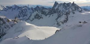 The Vallée Blanche Ridge