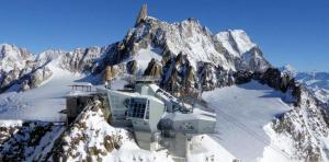 SkyWay Monte Bianco à Courmayeur, Vallée Aosta Italie