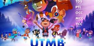 Poster UTMB®, créé par Matthieu Forichon, trouvé sur @ utmbmontblanc.com