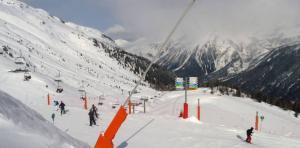 Brévent Ski Area in Chamonix