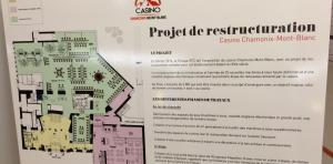 Projet de restructuration complet du Casino de Chamonix. photo source @www.radiomontblanc.fr
