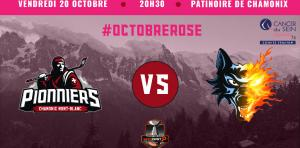 Les Pionniers de Chamonix se mobilisent pour Octobre Rose! Photo source: @www.facebook.com/PionniersChamonix