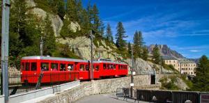 Train du Montenvers à la Mer de Glace