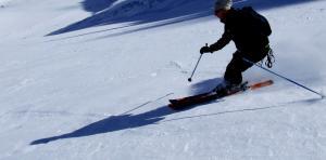 Ski on Glacier des Rognons