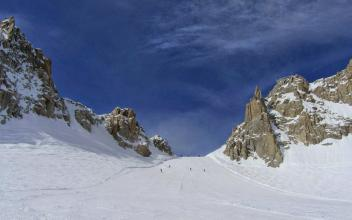 Rognons Glacier. Photo source: Maxence Pioteyry. http://buff.ly/1naVoRT