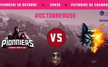 Les Pionniers de Chamonix se mobilisent pour Octobre Rose! Photo source: @www.facebook.com/PionniersChamonix
