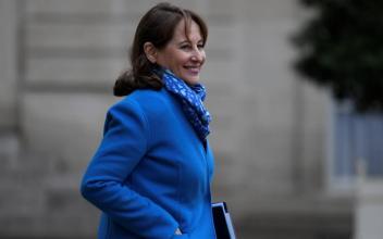 La Ministre de l'Environnement Ségolène Royal. photo source : @www.afp.com