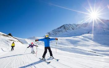 Le Tour Balme Ski Area