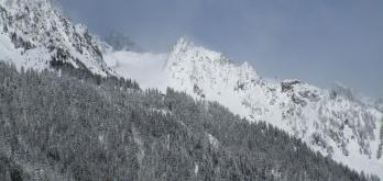 Fresh snow earlier this week in Chamonix!