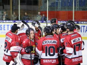 The Pioneers of Chamonix won  2-1 against Strasbourg. Photo source: @www.facebook.com/PionniersChamonix