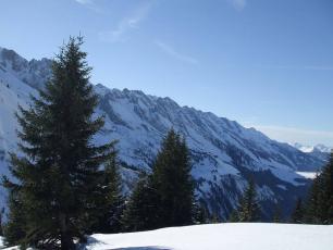 The Aravis Mountains, found on https://fr.wikipedia.org