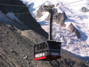 Panoramic Mont-Blanc gondola, view from Punta Helbronner, by France64160, licensed under CC-BY 3.0, found on https://commons.wikimedia.org