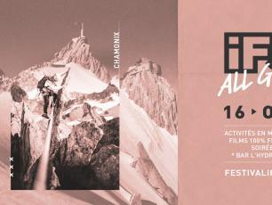 iF3 Chamonix 2021 du 14 au 16 octobre!