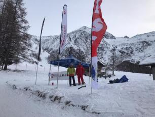 Ski touring initiation in Chamonix, ESF Les Houches
