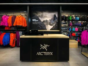 Arc'teryx premier magasin exclusif à Chamonix