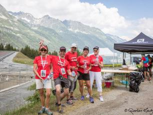 Volunteers are essential for the good organization of the Marathon du Mont-Blanc