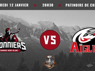 Ligue Magnus: Chamonix Vs Nice ce soir vendredi 12 janvier 2018. Photo source: @www.facebook.com/PionniersChamonix/