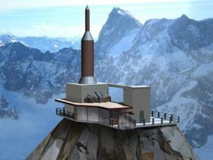 The Chamonix 'Step in the Void' - architect's design