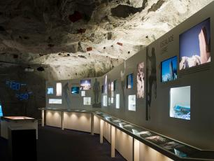 The Espace Vertical Museum displaying climbing memorabilia - Photo courtesy by CMB