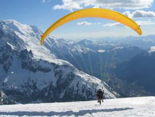 Chamonix Paragliding - Brevent Take Off