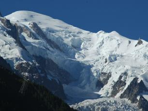 Glacier des Bossons. Photo source: @www.camptocamp.org