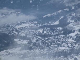 Chamonix valley today