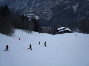 Les Houches today