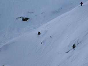Grands Montets on Monday
