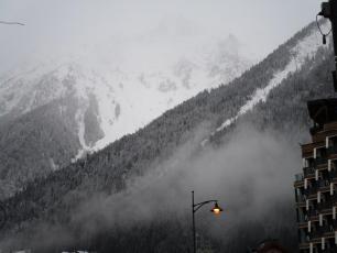 Chamonix this morning (Brevent)