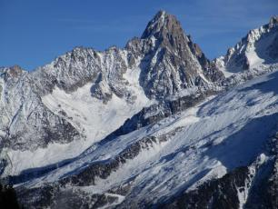 Grands Montets on Saturday - snow building up