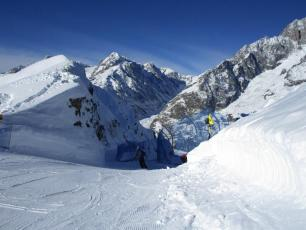 New Piste at Courmayeur: from Arp