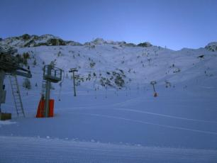 Grands Montets yesterday - new beginners area