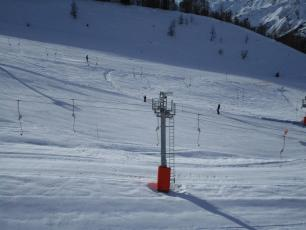 Grands Montets new beginners area