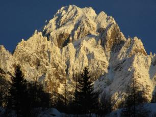 This evening from Argentiere
