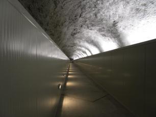 Punta Helbroner tunnel refuge Torino