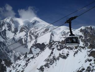Punta Helbronner cable car