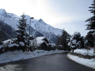 Chamonix yesterday