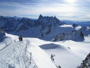 Aiguille du Midi (ridge) today