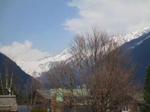 Vallee de Chamonix aujourd'hui - vers Le Tour