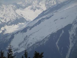 Vallee de Chamonix aujourd'hui - vers Les Grands Montets