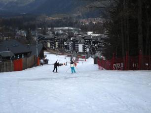 Savoy beginner slope today