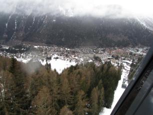 Chamonix valley today