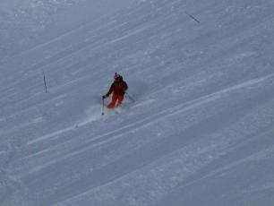 Flegere today - 50cm!