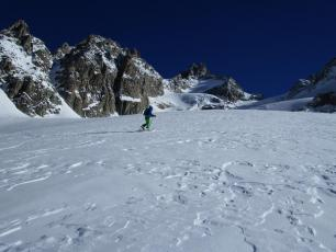 Ski tour to Col D'Argentiere on Monday