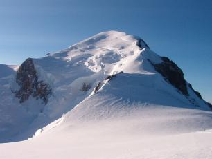 Vue du Mont Blanc depuis Dôme du Goûter, photo @ www.wikipedia.org