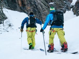 Tondu-Mont-Blanc.  Photo Credits: P. Arpin, D. Deschamps, B. Delapierre, F. Bernard